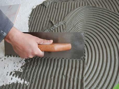 Fábrica de argamassa colante